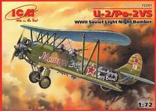 "U-2/PO-2VS ""MULE"", WWII SOVIET LIGHT NIGHT BOMBER 1/72 ICM 72241"