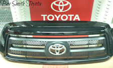 NEW OEM TOYOTA TUNDRA 10-13 ROCK WARRIOR GRILLE & EMBLEM BLACK PAINT CODE 202
