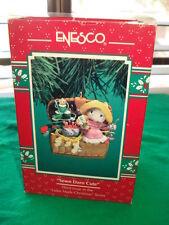 Enesco Treasury of Christmas Ornament SEWN DARN CUTE