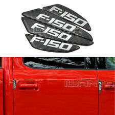4x Car Door Side Edge Protector Anti-scratch Carbon Fiber Sticker For Ford F150