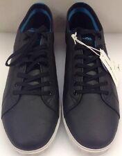 Lacoste Marcel USM SPM LTH Black Leather Men's 11.5 US NIB New 7-27SPM10111S3