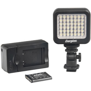 Energizer 42-Bulb LED Video Light With Battery And Charger- ENL-20K