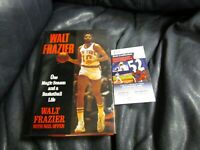 Walt Frazier Autographed ONE MAGIC SEASON AND A BASKETBALL LIFE Book JSA Cert