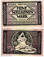 Allemagne GERMANY STADT DUSSELDORF Billet 5000000 MARK 1923 NOTGELD