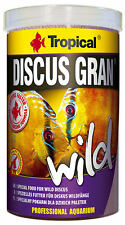 1000ML TROPICAL SALVAJE Discus Gran / Gránulos NUEVO Natural Forro Superior