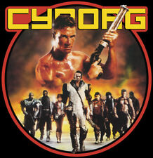80's Van Damme Classic Cyborg Poster Art custom tee Any Size Any Color
