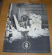 ARTE SALONE ANNUNCIATA PIETRO CONSAGRA MANIFESTO MOSTRA PIETRE MARZO 1979