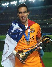 Claudio Bravo Signed Auto'D 11X14 Photo Chile Manchester City Copa America A