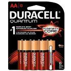 Duracell Quantum AA Batteries With Duralock Power Preserve Technology 8 ea
