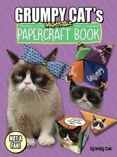 Grumpy Cat's Miserable Papercraft Book by Grumpy Grumpy Cat and Jimi...