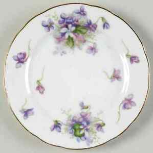 Rossetti Spring Violets Bread & Butter Plate 1225423