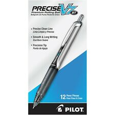 26067 Pilot Precise V7 RT Rollingball Pen, Fine 0.7mm, Black, Pack of 36