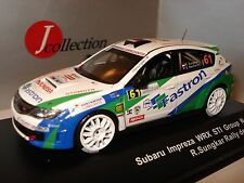 J-COLLECTION JC194 SUBARU IMPREZA WRX STI N°61 RALLYE DE FRANCE 2012 au 1/43°