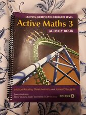 Active Maths 3 Activity Book Leaving Cert Ordinary Level ISBN 978-1-78090-080-3