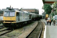 PHOTO  CLASS 60 LOCO NO 60003 AT LINCOLN 1992