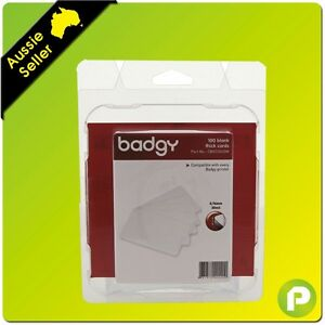 Badgy Printers Thick PVC Cards 100pk