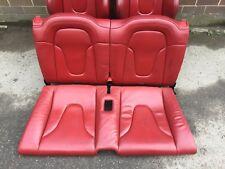 AUDI TT MK2 REAR SEATS RED 8J
