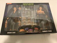 NECA TMNT 1990 Shadow Warrriors Oroku Saki and Hamato Yoshi Action Figure Pack