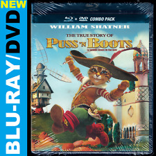 The True Story of Puss N Boots (Blu-ray/DVD) William Shatner, Yolande Moreau