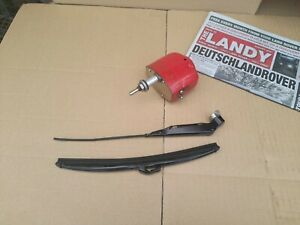 LANDROVER CLASSIC EARLY TYPE (SERIES) REPLACEMENT 12V TNK WIPER MOTOR .NEW SET !