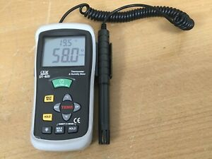 CEM Thermometer Humidity Temperature Meter DT-625