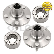 Pair(2) Front Wheel Hub & Bearing Assembly Fits Toyota Corolla / Celica / Matrix