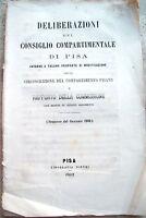 1862 STRADE FERRATE PISANE E COMMISSIONE PER CIRCOSCRIZIONE DIPARTIMENTO PISANO