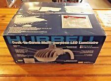 HUBBELL DDL-9L1 LED Street Light, 40W, 3437 lm, 120-/77V