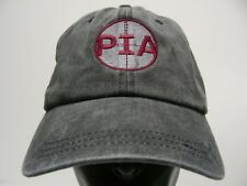 PIA - GET IN LINE - FADED GRAY - ONE SIZE ADJUSTABLE BALL CAP HAT!
