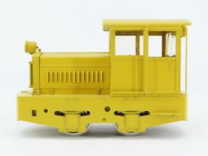 G Scale Accucraft BRASS Unlettered Whitcomb 0-4-0 Plymouth Diesel Switcher
