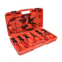 ABN Hose Clamp Pliers 9-piece Remover Tool Kit – Automotive Hose Removal Set