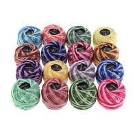 16pcs coton fil de broderie tout usage fils de coton point de croix, soie