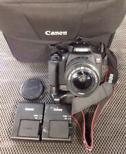 CANON REBEL T6 DIGITAL CAMERA W/18-55 LENS BAG 4 X BATTERIES 2 X CHARGERS NICE