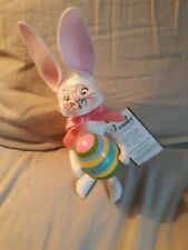 Annalee 6 inch bunny with egg Pink. #060704