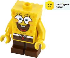 bob028 Lego 3816 - SpongeBob SquarePants Large Grin & Black Eyebrows Minifigure