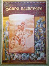 Scena Illustrata 15 Gennaio 1900 Wagner Bringa Calvizie Sogno Digiuno Andreotti
