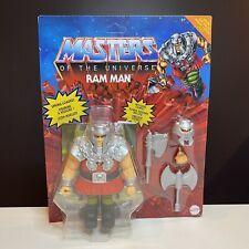 RAM-MAN from MASTERS OF THE UNIVERSE ORIGINS *He-Man *MotU *NIB
