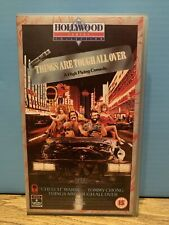 Cheech & Chong - Things Are Tough All Over - VHS video - RCA Columbia
