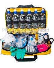 Acid Attack Response Kit | Includes Water, Burn Dressings, Gauntlets etc...