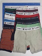 7 X MEN'S TOMMY HILFIGER COTTON BOXER TRUNK SHORT GUY FRONT VERY LOOSE Fit