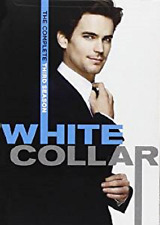 White Collar: Third Season Three 3 (DVD, 2012, 4-Disc Set) - NEW!!