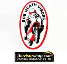 Bob Heath Motorcycle Helmet Visor BHV110 - DRIVER Alien- CLEAR