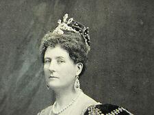 Duchess Of Buckingham & Chandos Alice Graham Montgomery 1898 Page Photo Portrait