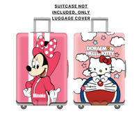 Cute Pink Luggage Cover Minnie Mouse Protect Skin Travel Case Cover Cartoon