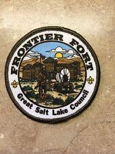 FRONTIER FORT GREAT SALT LAKE COUNCIL BSA PATCH