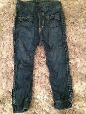 H&M Ruffle Jeans 3-4