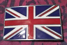 BRITAIN BRITISH FLAG BELT BUCKLE NEW