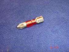 """1 x Wiha PZ2 MaxxTor Pozi 2 Screwdriver Bit 29mm long 1/4"""" Hex Pozidriv Maxx-Tor"""