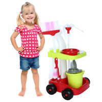Childrens Cleaning Set Broom Mini Sweeper Brush Mop Kid Toy Set Cleaning Supply