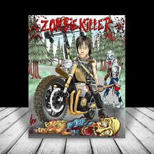 New DARYL DIXON The Walking Dead POSTER ART, Norman Reedus, zombie, motorcycle